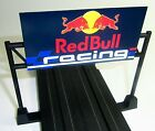 HO SLOT CAR TRACK SIGN,FITS AFX Tomy Lifelike Tyco Mattel TRACK,RED BULL RACING