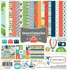 Carta Bella Paper TRAVEL STORIES 12x12 Collection Kit VACATION Scrapbook