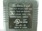 Technics 9V AC Adapter TEAD-48-091000U DC Phone Power Supply Charger