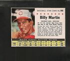 5166* 1961 Post # 190 Billy Martin ( no trade ) NM