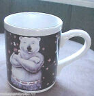 Gibson Coca Cola Polar Bear 1986 Coffee Mug #2