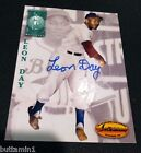 LEON DAY 1994 Ted Williams Co AUTOGRAPH Card Certified NEGRO LEAGUES Deceased L3