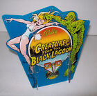 CREATURE FROM THE BLACK LAGOON By BALLY ORIGINAL PROMO DISPLAY LITE BLUE