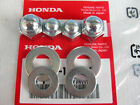 "HEX NUT &WASHER HONDA CT70 CT90 1966-1982 ""GENUINE"" JAPAN NOS.  (as)"