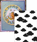 CLOUDS Embossing Folder DARICE 1217 53 Cuttlebug Compatible NEW A2