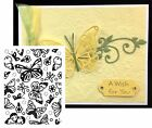 Butterfly Embossing Folders FLUTTER FRENZY Cuttlebug Compatible ULTIMATE CRAFTS