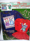 No Sew VTG FABRIC APPLIQUE DAISY KINGDOM CHRISTMAS ANGELS WE HAVE HEARD on High