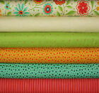 6 fat quarters ~ Moda ~ Block Party by Sandy Gervais