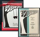 MEMORY BOX WOODLAND TREE SILHOUETTE steel craft die 98969 All Occasion frame