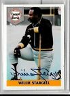 WILLIE STARGELL 1992 FRONT ROW#1 CERTIFIED AUTOGRAPH