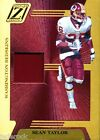 Sean Taylor 2005 Donruss Zenith Game Used Jersey Prime Patch #87 100 Z-Jerseys