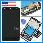 New For LG Google Nexus5 D820 D821 Frame & LCD Digitizer Touch Screen Assembly