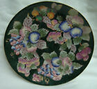 ORNATE Hand Painted DECORATIVE PORCELAIN PLATE by ANDREA by SADEK