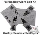 Partial or Complete Fairings Bolt Kits for Honda CBR600 F4 F4i 1999 2007