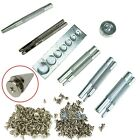 11Pcs Craft Tool Die Punch Snap Rivet Setter Base Kit + 100 x10mm Bullet Spikes