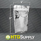 1 10 Or 100 Odor Smell-proof Clear Zip Lock Bags Resealable Stand-up Pouches