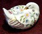Minton Haddon Hall  Goose Figurine English Bone China 1st. quality Minton Logo