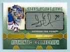 HENRIK LUNDQVIST 2012 131 IN THE GAME ITG BETWEEN THE PIPES AUTOGRAPH AUTO
