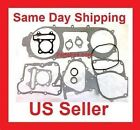 long case Scooter moped go kart engine head gasket sets of Gy6 150cc 11 pieces