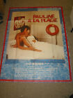 PAULINE AT THE BEACH ORIG FRENCH 1P MOVIE POSTER ERIC ROHMER