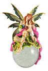 Large Mother and Child Bubble Fairy Statue Faerie Figure