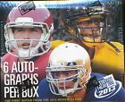 2 BOX LOT 2013 PRESS PASS FOOTBALL HOBBY SEALED ANDREW LUCK