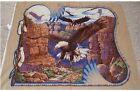 Sacred Wings Eagle SouthWest Quilt top Panel Fabric 100% Cotton Wildlife