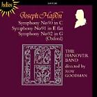 Symphonies Nos. 90, 91 & 92 'Oxford' (Goodman, Hanover Band) CD NEW