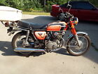 Honda : CB Very Nice 1972 Orange Honda 350 CB Motorcycle Original, Low Miles, Runs Great!!!