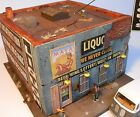 Downtown Deco HO Scale Fat Lou's Liquor Hydrocal Craftsman Kit Gritty Fine