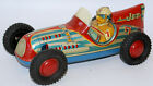 RARE Vintage 50's Tin Friction MARUSAN (Japan) #7 JET RACER Open Wheel Race Car