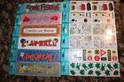 Frances Meyer 12 Packs Scrapbooking Stickers Love Bugs Ball Fishing Picnic Frogs