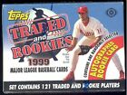 1999 Topps Complete Hobby BASEBALL CARD Traded & Rookies SEALED SET 1 Autograph