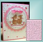 CUTTLEBUG Embossing Folders SPOTS AND DOTS folder All Occasion folder A2 New