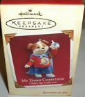My 3Rd Christmas-Puppy`2005`Child's Age Collection`Hallmark Christmas Ornament