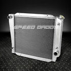 3 ROW FULL ALUMINUM RACING RADIATOR 66 77 FORD BRONCO WAGON ROADSTER 50L 302 V8