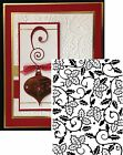 Christmas Darice Embossing Folders HOLLY VINES 1219 118 Cuttlebug Compatible
