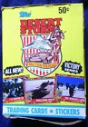 UNOPENED TOPPS DESERT STORM VICTORY SERIES BOX 36 PACKS CARDS STICKERS