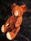 VINTAGE RED BROWN RUBBER NOSE FACE TEDDY BEAR PLUSH OLD TOY FR RUSHTON GUND LOT