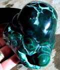 rle MALACHITE STALACTITE THE CONGO POLISHED NICE! NATURAL COLOR GREEN 2.58 lbs.
