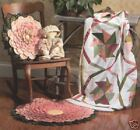 ~ SEW EASY NEW PATTERN ~ PRAIRIE QUILT ~ RUG & PILLOW ~