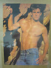 vintage Tim Wright poster hot guy blue jeans 5246