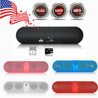 Portable Shockproof Bluetooth Wireless FM Stereo Pill Speaker SmartPhone Tablet