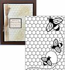 DARICE Embossing Folders BEES BUZZING 1219 119 Insects Cuttlebug Compatible