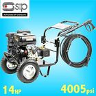 SIP 08450 14hp 4005psi Petrol Jet Pressure Washer farm yard truck bus cleaner
