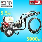 SIP 08947 5.5hp 3000psi Petrol Jet Pressure Washer farm yard truck bus cleaner