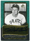 2003 UD SP Legendary Cuts Hall Marks Green RALPH KINER On-Card Auto Rare SP # 10
