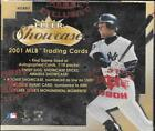 2001 FLEER SHOWCASE BASEBALL HOBBY SEALED BOX