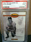 1993 Ted Williams CO. # 16 Duke Snider PSA Graded 9