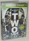 XBOX 360 Army of Two Video Game Platinum Hits Edition Sniping Shooter Adventure